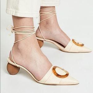 cult gaia Shoes - Cult Gaia Liya Heels in Natural BRAND NEW